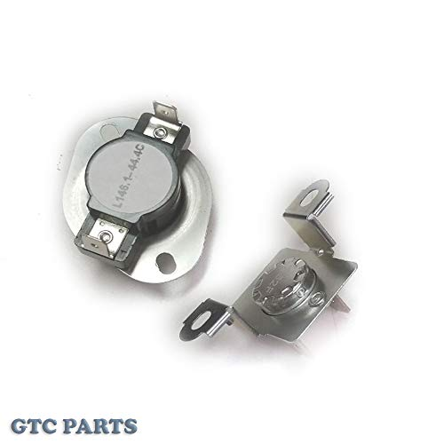 279973 - Dryer Thermal Cut-Off Fuse & Thermostat Kit for Whirlpool, Maytag & Kenmore by GTC - Replaces 279973VP, 3391913, 3404151, 3404152, 3977395, 8318314, 897710, AP3094323