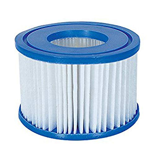 Bestway Spa Filter Pump Replacement Cartridge Type VI SaluSpa Hot Tub (12 Pack) (Bestway Spa Filter Pump Replacement Cartridge Type Vi)
