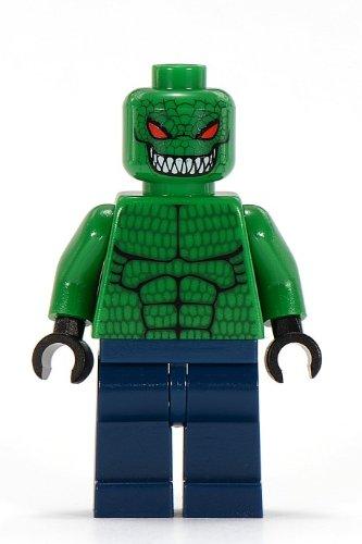 LEGO ORIGINAL RETIRED 2006 KILLER CROC Batman Minifig Minifigure Figure from Set 7780 The Batboat: Hunt for Killer Croc ()