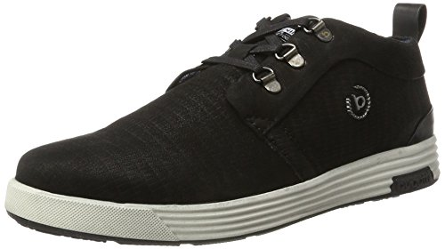 Bugatti Men's 322284013000 High Sneaker, Black Black (Schwarz)