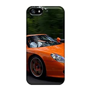 New Snap-on Evanhappy42 Skin Cases Covers Compatible With Iphone 5/5s- Porsche Carrera Gt