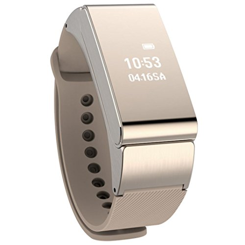 Bluetooth Smart Bracelet, WuyiMC Bluetooth Wristwatch Smart Bracelet With 3-D Sensor and Waterproof, Dustproof IP57 Professional Design, Combination of Intelligent Wristband and Bluetooth Headset