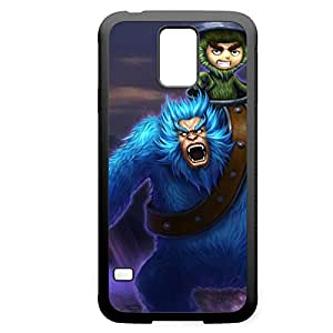 Nunu-004 League of Legends LoL case cover for Samsung Galaxy S5 - Rubber Black