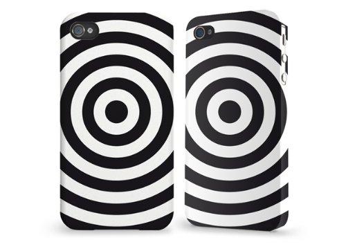 """Hülle / Case / Cover für iPhone 4 und 4s - """"Target"""" von caseable"""