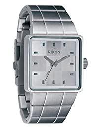 Nixon Men's NXA0131166 Classic Analog with Square White Dial Watch