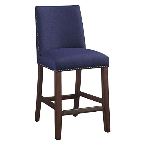 (Comfort Pointe Sicily Navy Counter Stool)