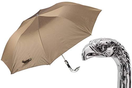 Pasotti Silver Eagle Folding Umbrella.