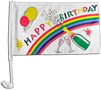 Digni Happy Birthday Car Flag 12 x 16 inch