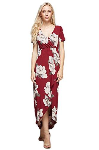 Vanilla Bay Vintage Floral Print Maxi Dress
