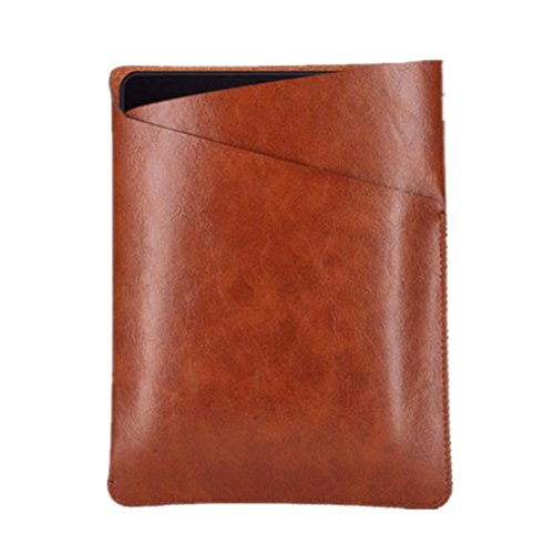 Price comparison product image MNtech New Luxury Slim Leather Protective Cover Case Bag For Amazon Kindle Oasis (Brown)