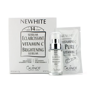 Newhite Vitamin C Brightening Serum (Brightening Serum 23.5ml/0.8oz + Pure Vitamin C 1.5g/0.05oz) 2pcs