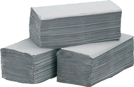 Toallas de papel natural, de zigzag Doblado, 5000 hojas de papel - Paños de toalla: Amazon.es: Salud y cuidado personal