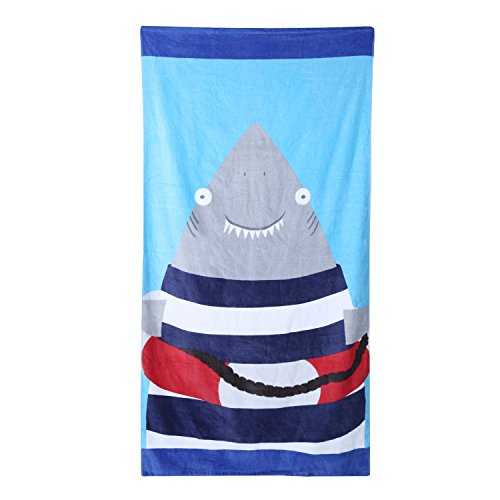 Wowelife Baby Bath Towels for Bath, Pool and Beach 100% Cotton 30 x 63 inch Extended Length for Both Children and Adults(Happy Jaw) by Wowelife (Image #10)