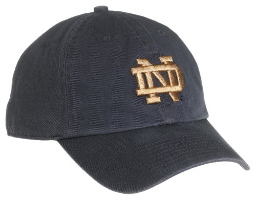 Adjustable Cap (navy) (Notre Dame Hoodies)