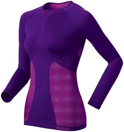 Odlo Damen Unterhemd Shirt Langarm Crew Neck Evolution Warm