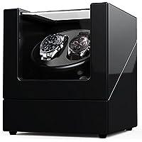 Remontoir de montres pour Montres Automatiques Rolex, Coque en Bois + Piano peint + Japanes Motor