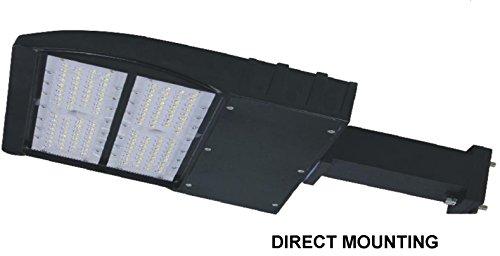 90w LED Parking Lot shoebox Light Fixture UL DLC approved 12000-13000 Lumens (90w - Direct Mount)