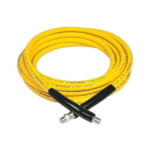 - Goodyear Engineered Products 20023899 Yellow Gauntlet 3/8 in. x 50 ft. 3,000-PSI Pressure Washer Hose
