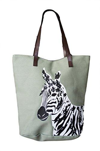 XXL Trendige Schöne Strandtasche Einkaufstasche Shopper Strandbeutel Bag Tasche mit Motiv