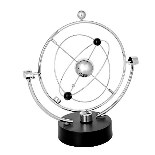 Lependor Simulation Milky Way Annularity Model Electronic Perpetual Motion Toy Dynamic Balancing Instrument Best Office Desktop Decoration ()