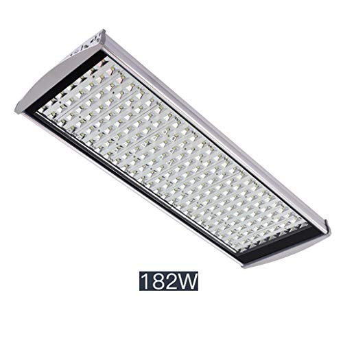 (LED Flood Light,Security Lights Outdoor Waterproof Road Light Residential Courtyard Rural Road (Color : 182W-white light))
