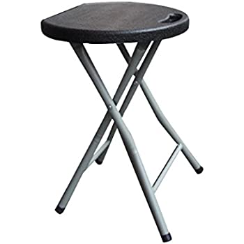 Ankola Folding Stool 18 inch Heavy Duty Study Light Weight Metal and Plastic Folding  sc 1 st  Amazon.com : plastic folding stools - islam-shia.org