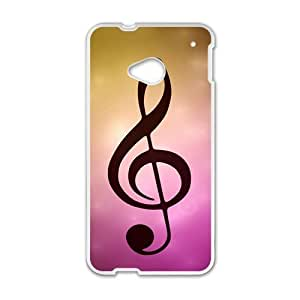 music note personalized high quality cell phone case for HTC M7