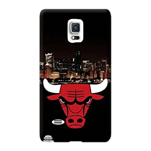 JacquieWasylnuk Samsung Galaxy Note 4 Perfect Cell-phone Hard Cover Provide Private Custom Trendy Chicago Bulls Image [FdA8973pjTE]