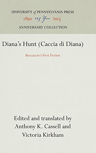 Diana's Hunt (Caccia di Diana): Boccaccio's First Fiction (The Middle Ages Series)