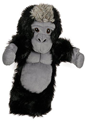 The Puppet Company Long-Sleeves Silverback Gorilla Hand Puppet (Gorilla Gloves)