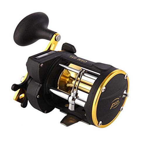 (JQTEL Counter Spinning Reel,Ultralight Premium Fishing Reel with 3+1 Corrosion Resistant Bearings Smooth Powerful with 22Lb Carbon Fiber Drag & 6.0:1 Gear Ratio)