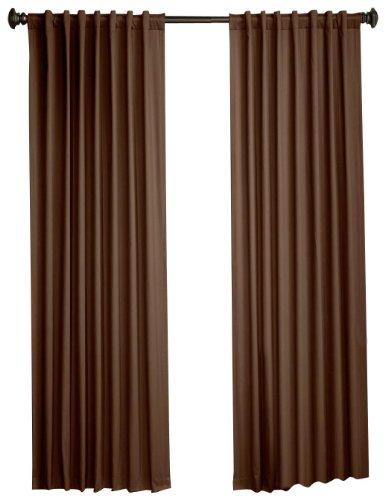 80 katoenen Panel 1888 chocolade en Pocket bar rugwimpers 63 Lighthouse Devon zwart katoen Mills inch canvas Pairs inch met 100 bij ww04A