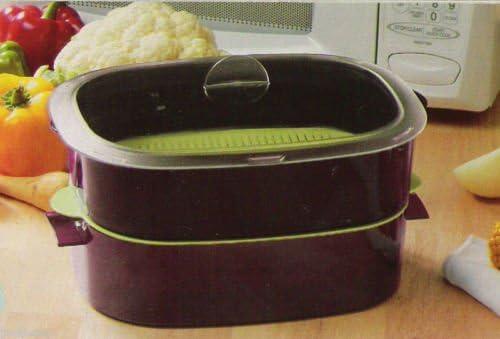 Tupperware - Vaporizador para microondas (6 piezas, ovalado ...