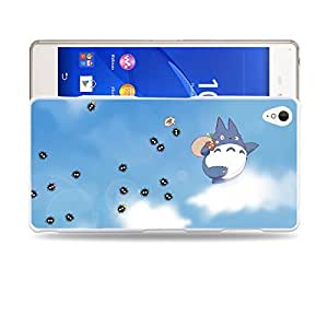 Case88 Designs My Neighbor Totoro 0672 Protective Snap-on Hard Back Case Cover for Sony Xperia Z3