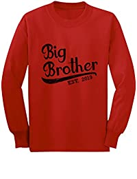 Tstars - Gift for Big Brother 2019 Toddler/Kids Long Sleeve T-Shirt