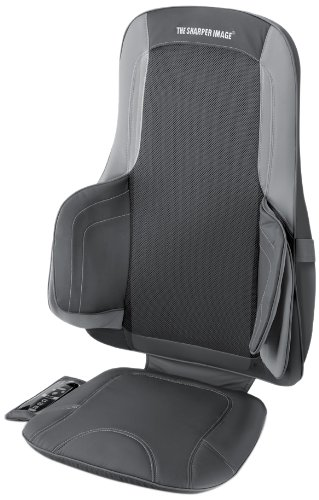 The Sharper Image MSI-CS775H Air and Shiatsu Massage Cushion