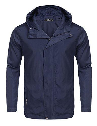 Navy Blue Hooded Jacket - 9