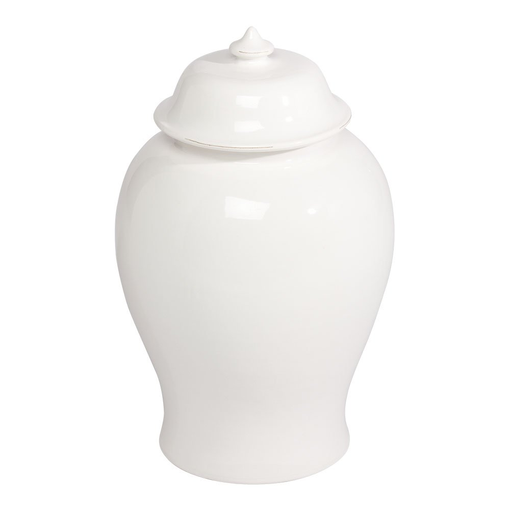 Ethan Allen Linda Ginger Jar, Medium
