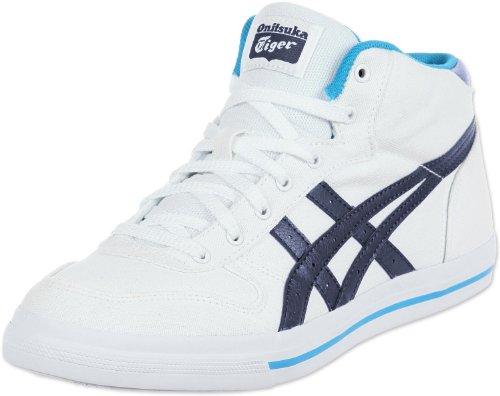 Asics, Sneaker donna, Bianco (white indigo blue), 44