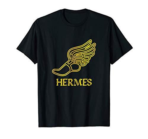 (Gold Hermes Shoe Caduceus Son Zeus God Greek Mythology)