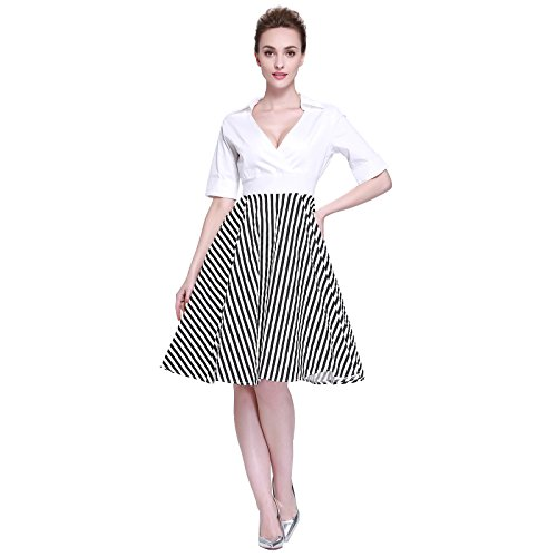 heroecol-womens-vintage-1950s-dresses-cross-v-neck-short-sleeve-50s-60s-splice-style-retro-swing-cot