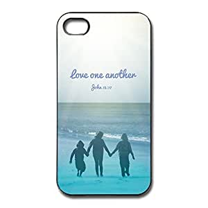 IPhone 4/4s Cases Love One Another Design Hard Back Cover Proctector Desgined By RRG2G