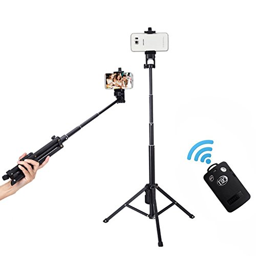 selfie stick foneso yunteng 3 in 1 extendable self portrait monopod handheld tripod with. Black Bedroom Furniture Sets. Home Design Ideas