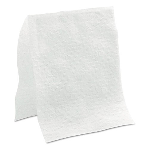 Easynap Jr. Napkins, One-Ply, 4 X 9 7/8, White, 250/pk, 36 Pk/ct (Pacific Luncheon Napkins)