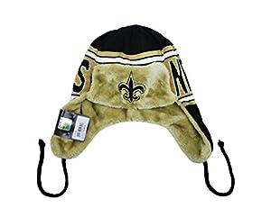 NEW ERA NFL NEW Orleans Saints Beanie Helmet Head Word Trapper