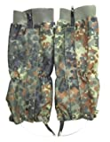 Mil-Tec Flecktarn Waterproof Gaiters (Flecktarn)