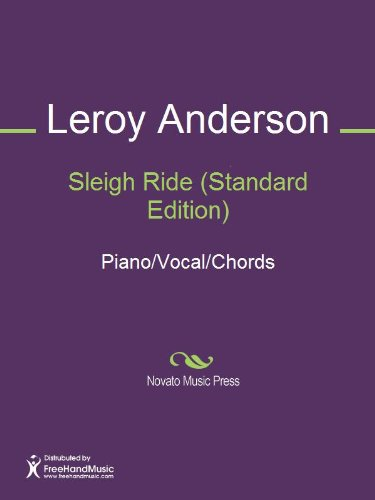 Sleigh Ride Standard Edition Sheet Music Pianovocalchords