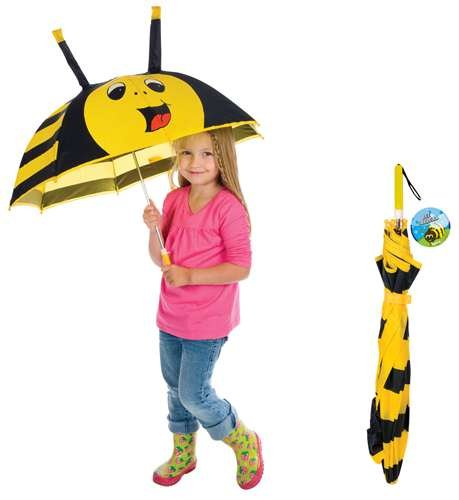 Manual Umbrella Childrens Insects Outdoor