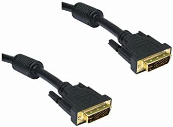 TALLA 3m. Rhinocables DVI DVI-I Dual Link Cable Macho 28 1 Digital y analógico 29 Pin (3m)