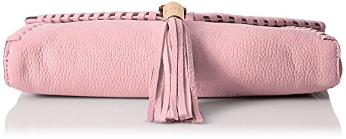 Astor Whipstitch Clutch MILLY Blush Foldover dgnU1x4
